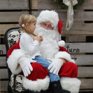 Pictures & Cookies with Santa