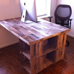 Apple Crate Desk