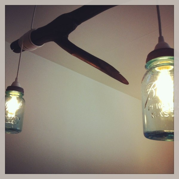AppleCrate_Mason Jar Chandalier