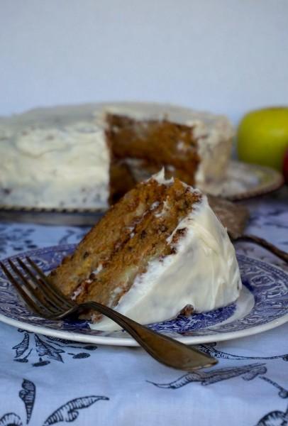 Crispin Apple Nut Cake 1