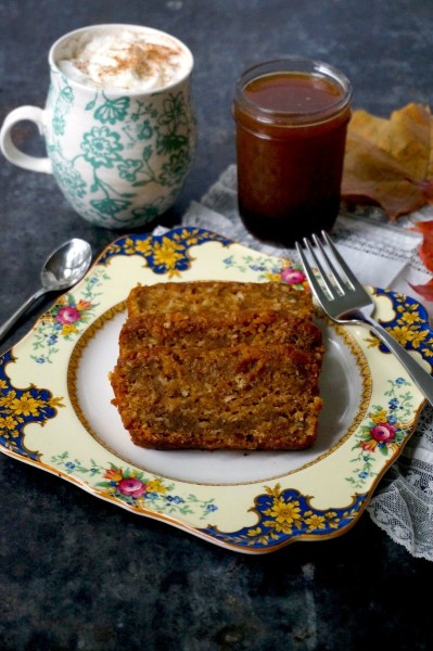 Pumpkin bread and lattee syrup(1)