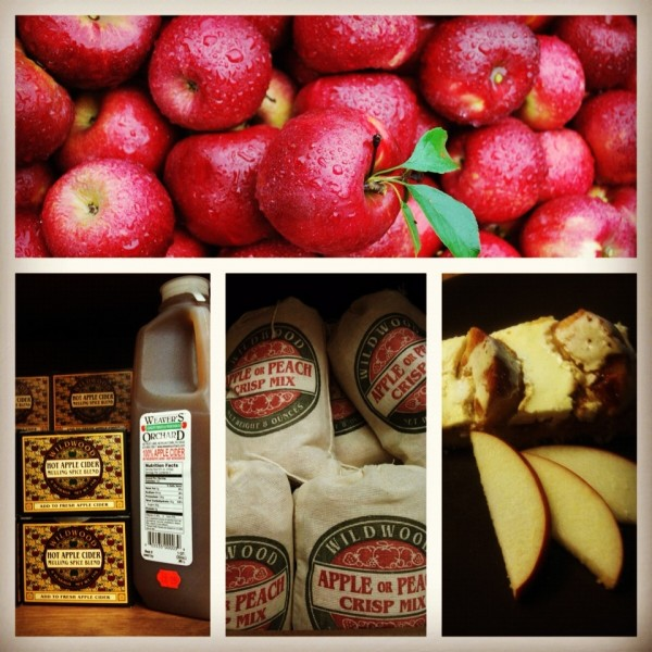 apple crisp and kutchen holidays