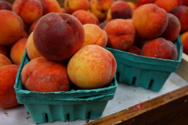 Quarts of Peaches