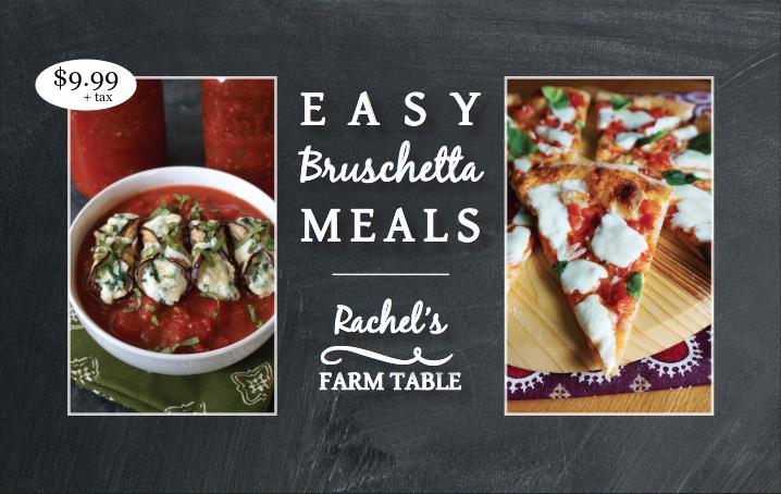 Easy Bruschetta Meals