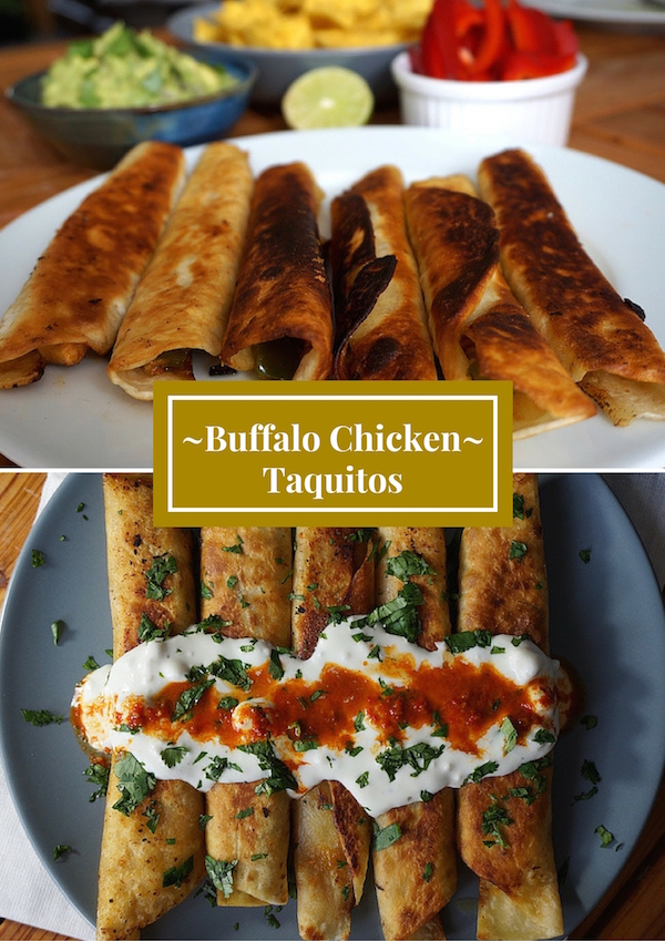 Buffalo ChickenTaquitos