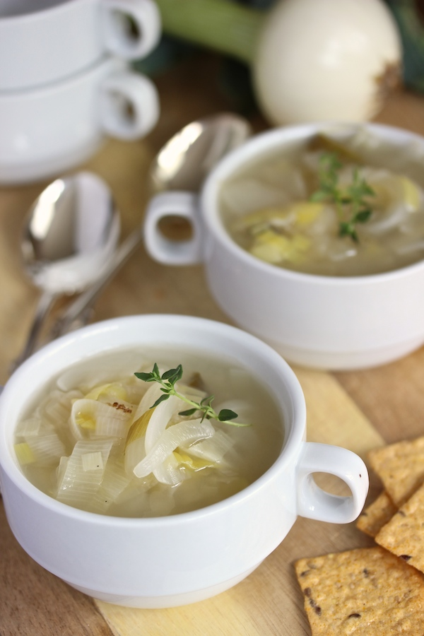 Onion Leek Soup