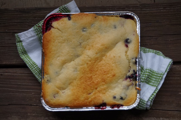 And how long should you cook a cobbler? It's done once it is lightly ...