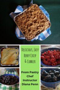 Delicious, EasyBerry Crisp & Cobbler