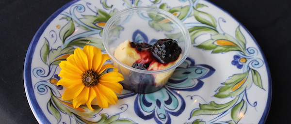 Lemon Curd and Berry Sauce