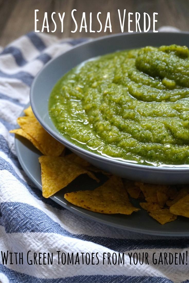 Salsa Verde Pinterest