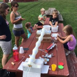Developing irrigation systems at Orchard Explorers