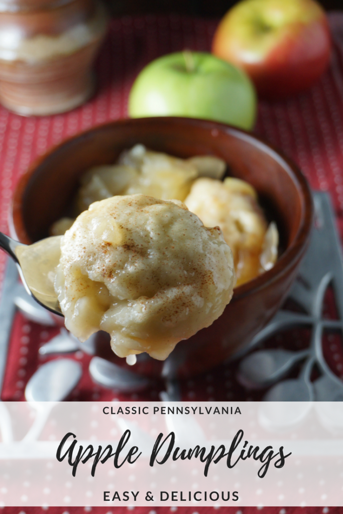 We tested out a classic Pennsylvania recipe from 1915. The verdict? Easy and delicious. #AppleDumplings #AppleDessert #PADutch #PennsylvaniaRecipes #Apples #Desserts