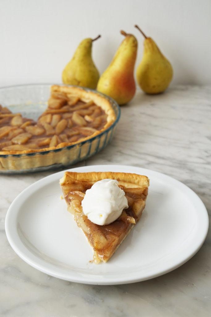 Vanilla Bean Pear Pie Filling