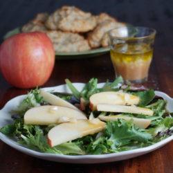 Honeycrisp apple salad dressing
