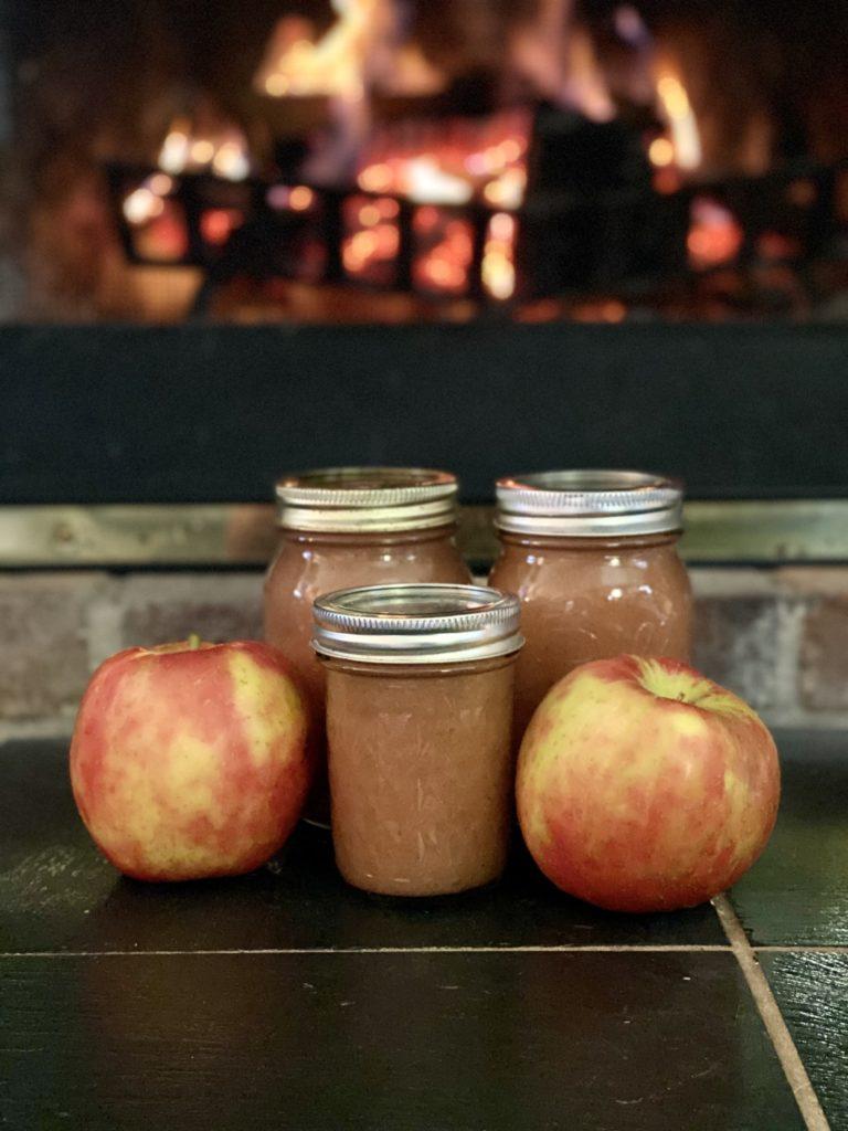 Applesauce jars
